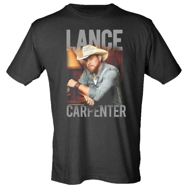 Lance Carpenter Black Photo Tee